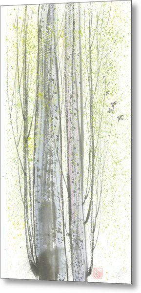 New Leaves Metal Print by Mui-Joo Wee