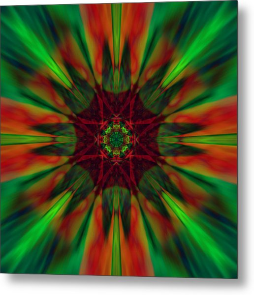 New Life Ablaze Metal Print