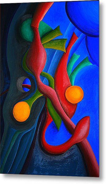 New Life Form Metal Print by Michael C Crane