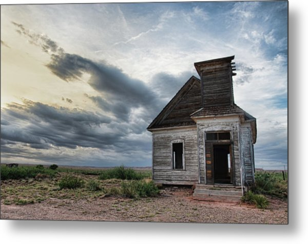 New Mexico Church # 2 Metal Print