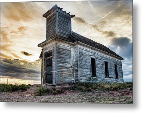 New Mexico Church #3 Metal Print