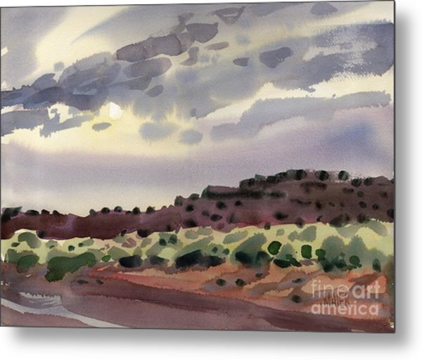 New Mexico Evening Metal Print