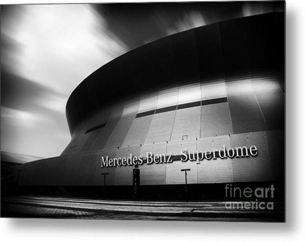 New Orleans Stadium Metal Print by Alessandro Giorgi Art Photography