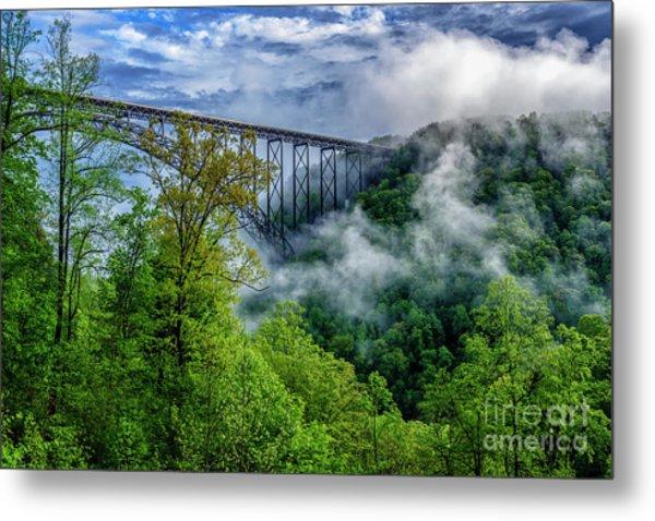 New River Gorge Bridge Morning  Metal Print