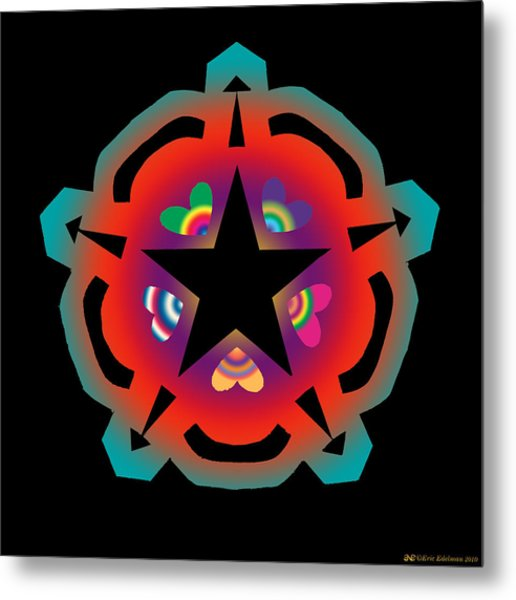 New Star 6 Metal Print