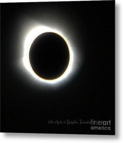 Kingston, Tn Eclipse Metal Print