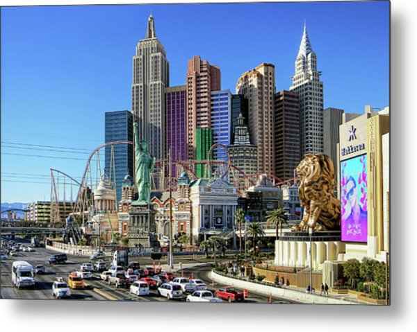 New York , New York Metal Print