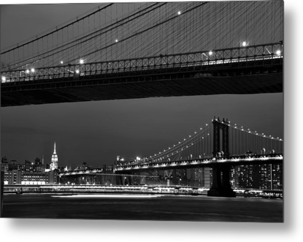 New York Bridges Metal Print
