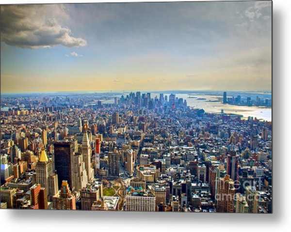 New York City - Manhattan Metal Print