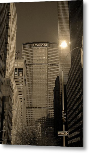 New York City 1982 Sepia Series - #7 Metal Print