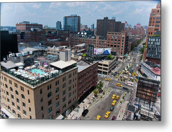 New York City Meat Packing District Metal Print