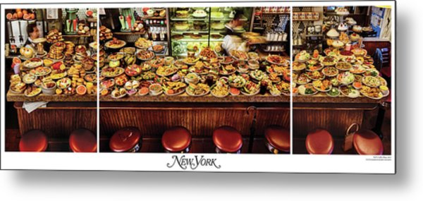 Metal Print featuring the photograph The New York Diner by New York Magazine