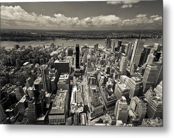 New York Husdon Metal Print