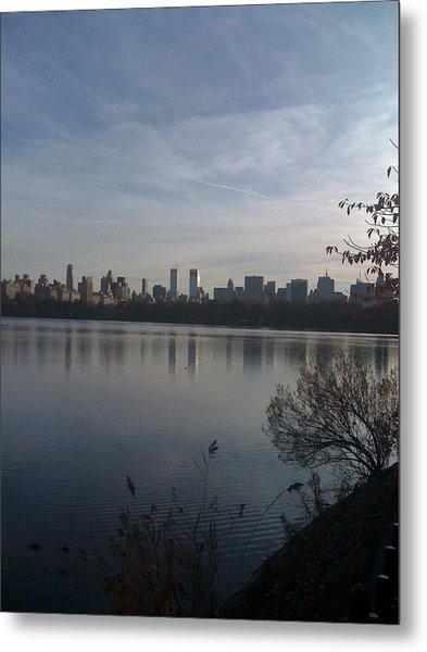 New York Is Beautiful Metal Print by Wendy Uvino
