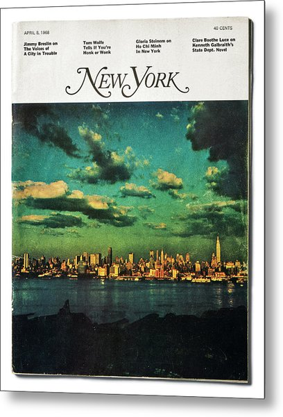 Metal Print featuring the photograph New York by Jay Maisel