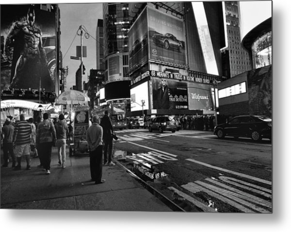 Metal Print featuring the photograph New York, New York 1 by Ron Cline