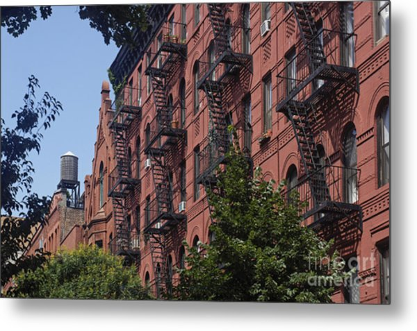 Metal Print featuring the photograph New York Soho by Juergen Held