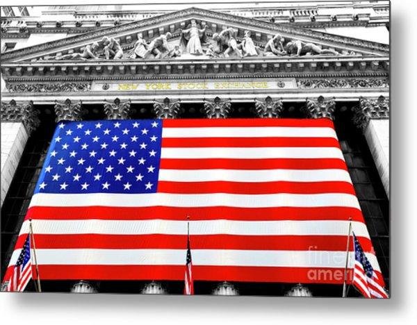 New York Stock Exchange 2006 Metal Print
