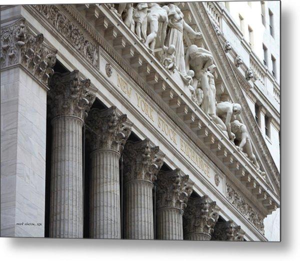 New York Stock Exchange Metal Print