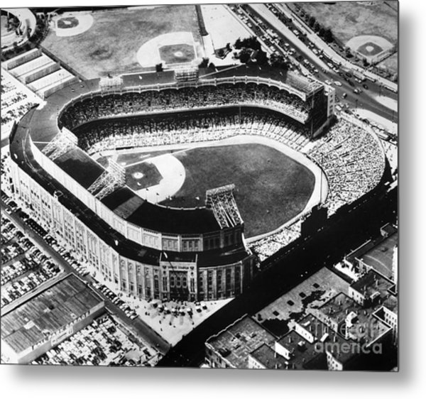 New York: Yankee Stadium Metal Print