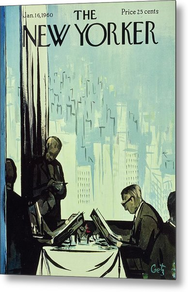 New Yorker January 16 1960 Metal Print