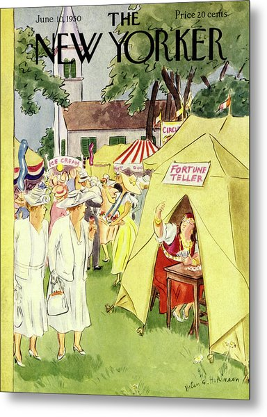 New Yorker June 10 1950 Metal Print