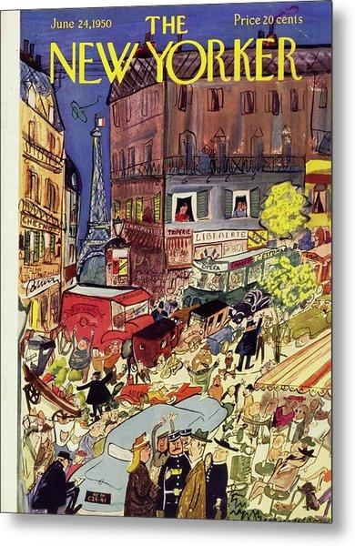 New Yorker June 24 1950 Metal Print