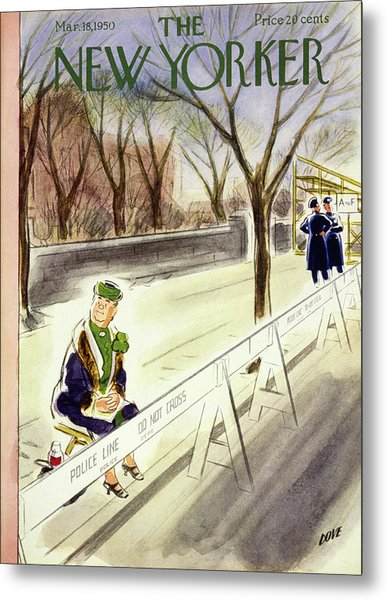 New Yorker March 18 1950 Metal Print