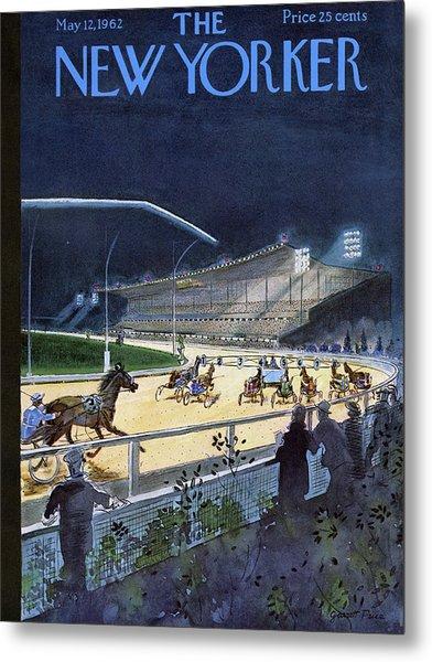 New Yorker May 12 1962 Metal Print by Garrett Price