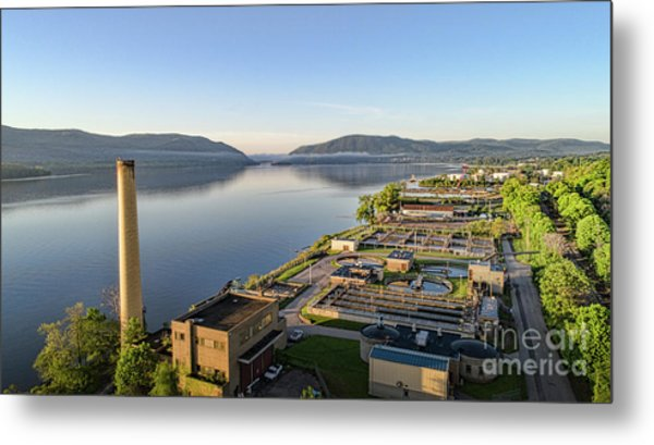 Newburgh And The Hudson Highlands Metal Print