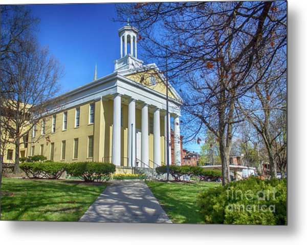 Newburgh Courthouse On Grand Street 1 Metal Print