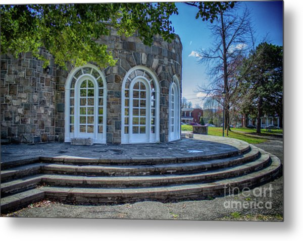 Newburgh Downing Park Shelter House Side View Metal Print