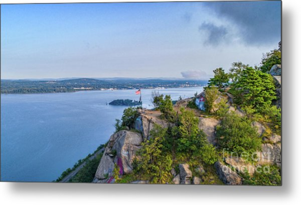 Newburgh From Breakneck Ridge Metal Print
