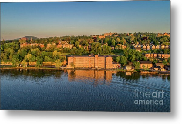 Newburgh Waterfront At Sunrise 2 Metal Print