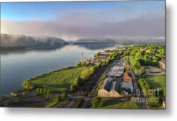 Newburgh Waterfront Looking South 2 Metal Print