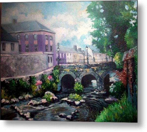 Newcastle West Co Limerick Metal Print