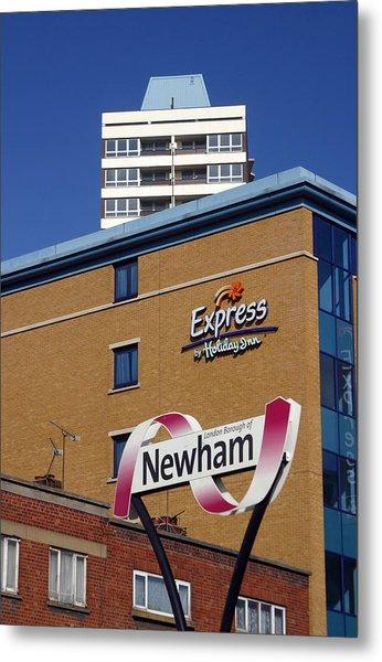 Newham Express Metal Print by Jez C Self