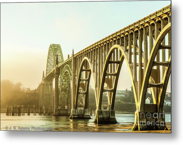 Metal Print featuring the photograph Newport Bridge by Jim Adams