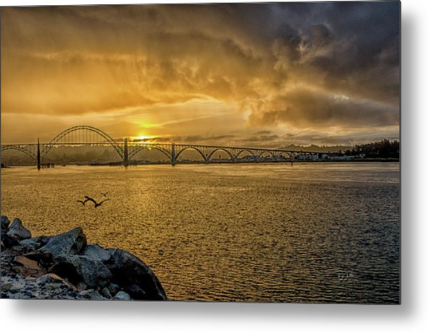 Newport Morning Metal Print