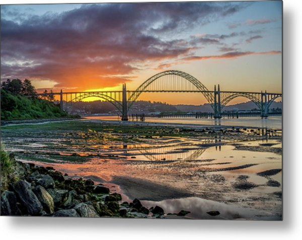 Newport Or Greeting Metal Print