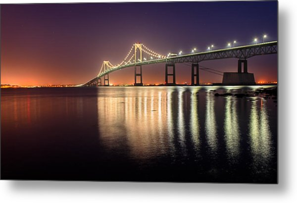 Newport Twilight Metal Print