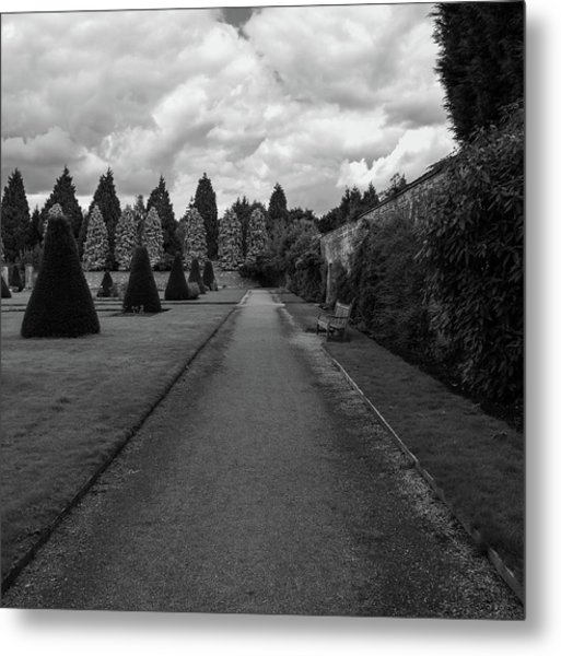Newstead Abbey Country Garden Gravel Path Metal Print