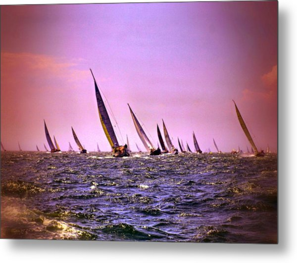 Next Stop Nantucket Metal Print