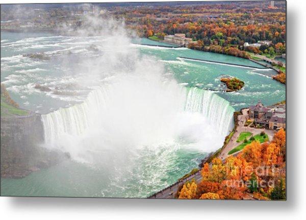Niagara Falls Autumn Metal Print