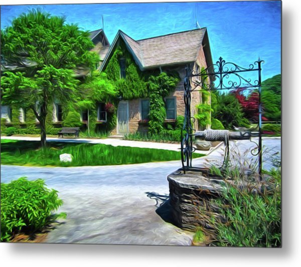 Niagara Falls Botanical Garden Y1 Metal Print