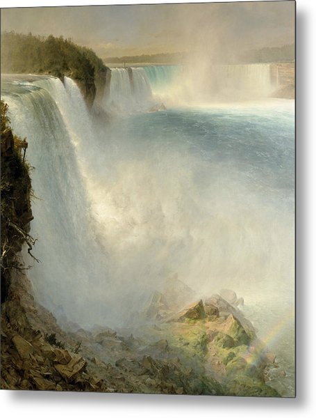 Niagara Falls From The American Side Metal Print