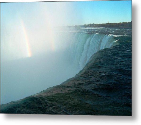 Niagara Falls Metal Print by Rita Tortorelli