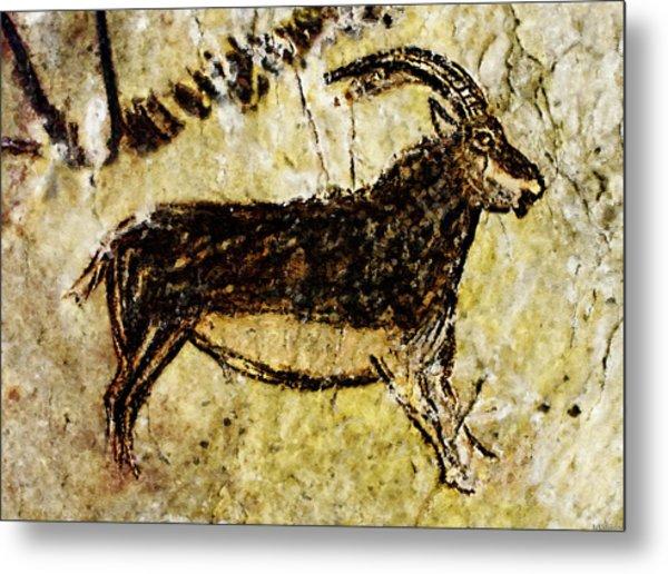Niaux Goat Metal Print