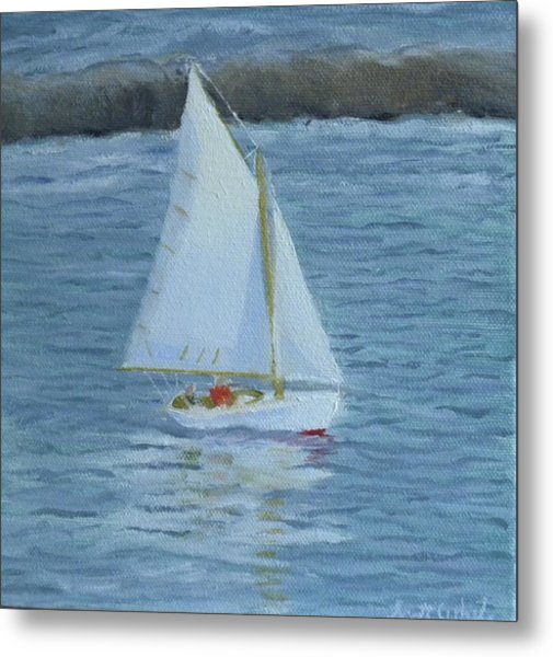 Nice Day For A Sail Metal Print