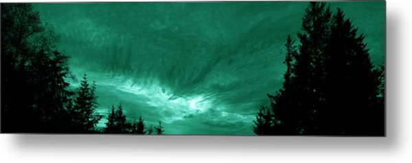 Night Clouds Metal Print